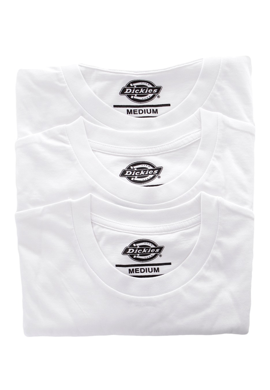 aeab8412e Dickies - Dickies Pack Of 3 White - T-Shirt