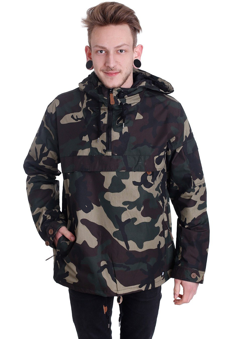 22e189adfce3a Dickies - Pollard Camouflage - Windbreaker - Impericon.com UK