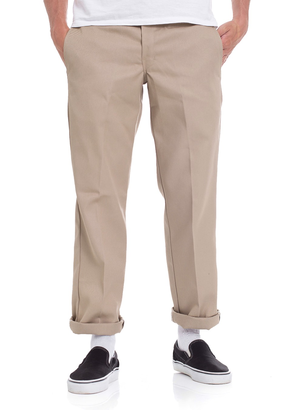 69d04d6ffe1 Dickies - Slim Straight Work 873 Khaki - Pants - Impericon.com Worldwide