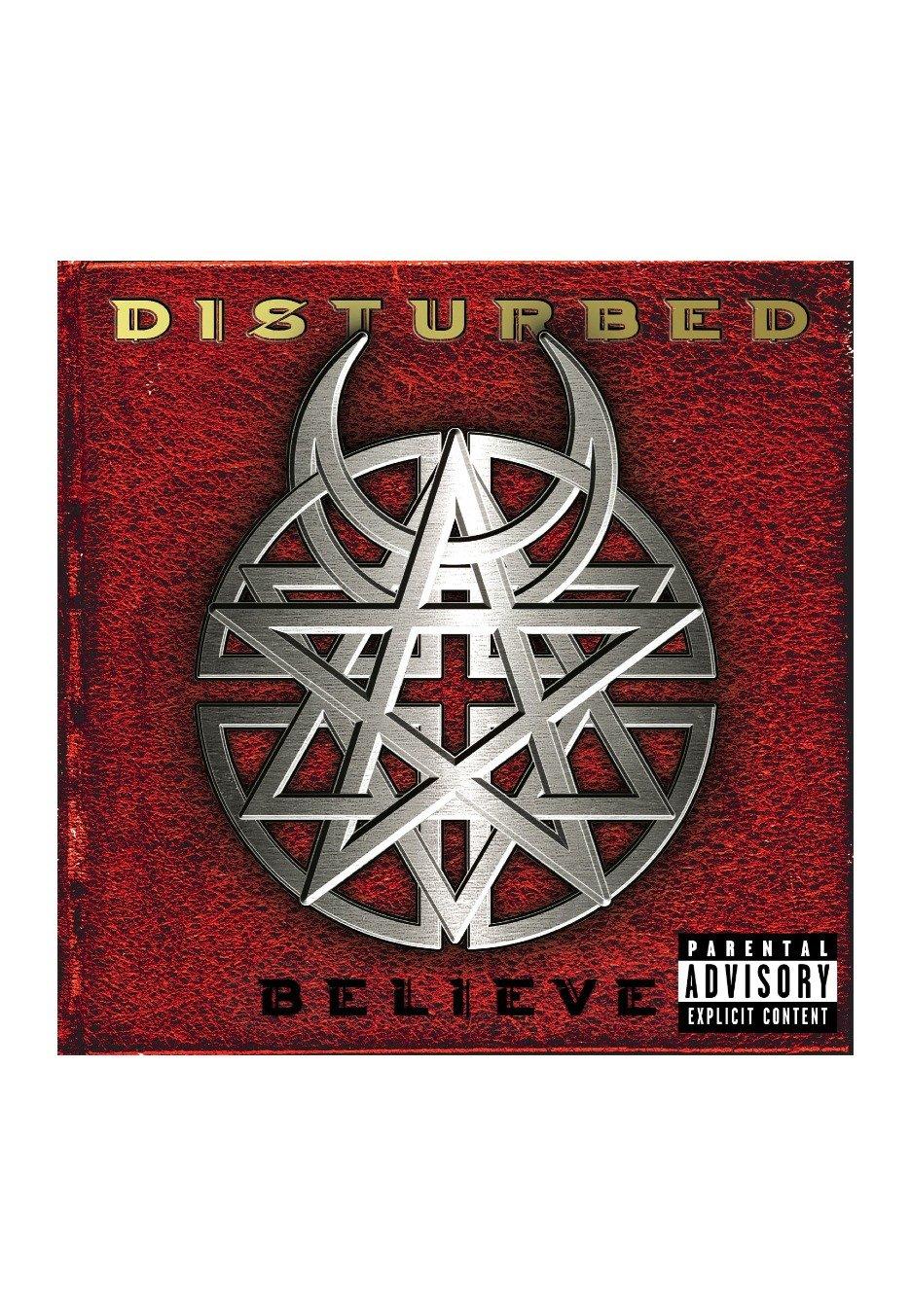 Disturbed Believe Cd Official Nu Metal Merchandise Shop