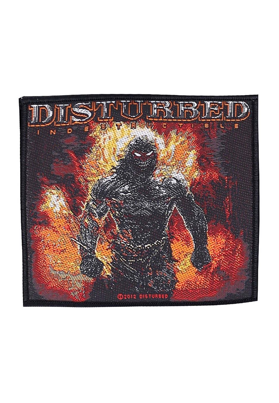 Disturbed Download 2016 Embroidered Cloth Patch