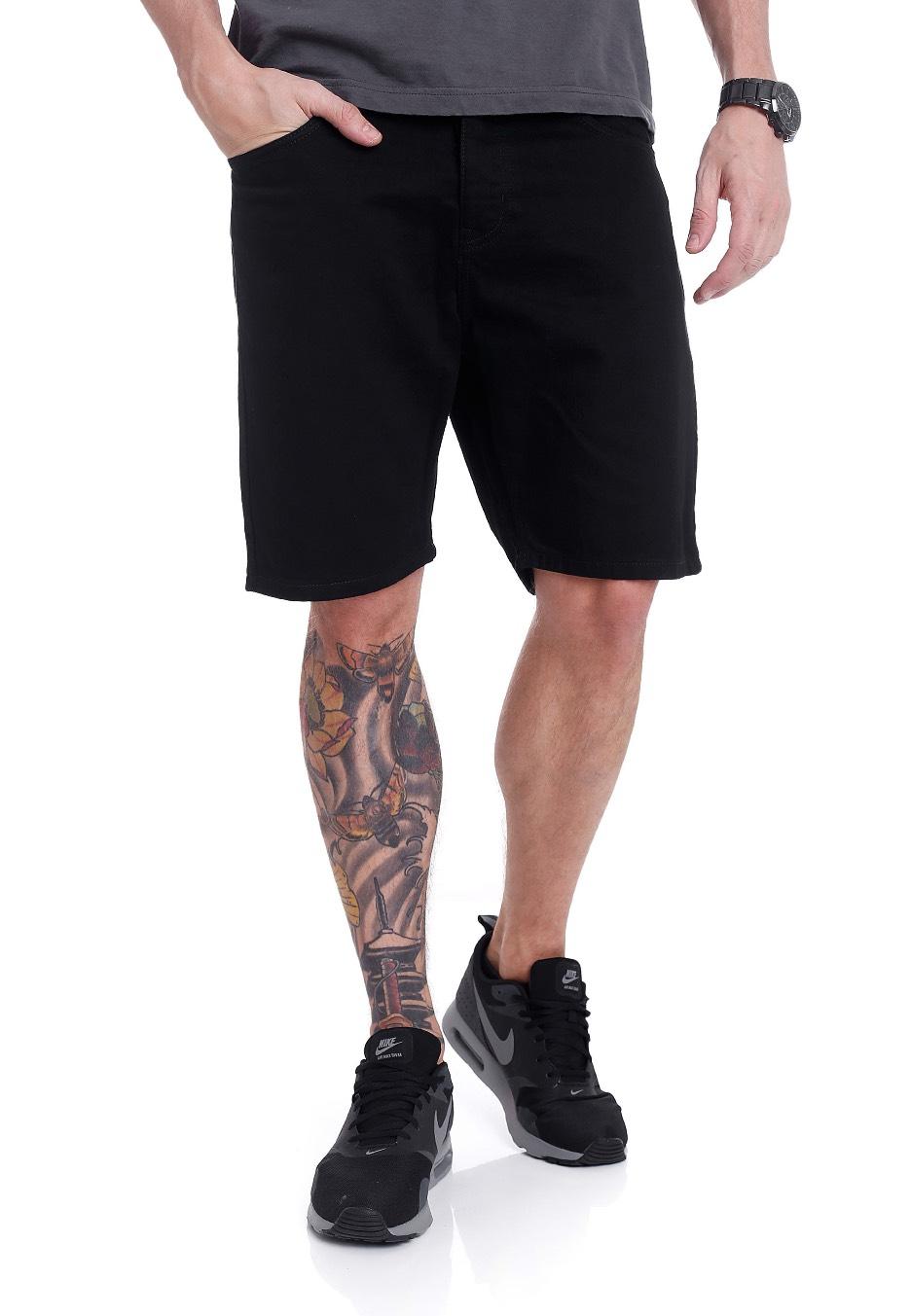 Dr. Denim - Bay Organic Black - Shorts