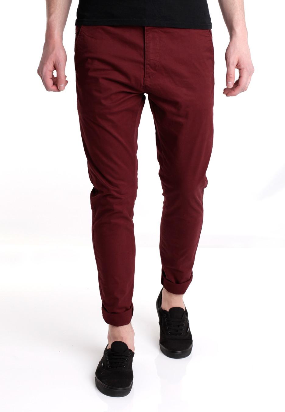 dr denim heywood burgundy pants streetwear shop worldwide. Black Bedroom Furniture Sets. Home Design Ideas