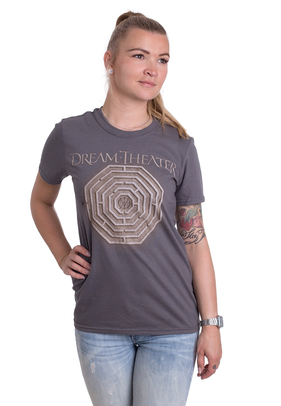 Dream Theater - Maze Charcoal - - T-Shirts