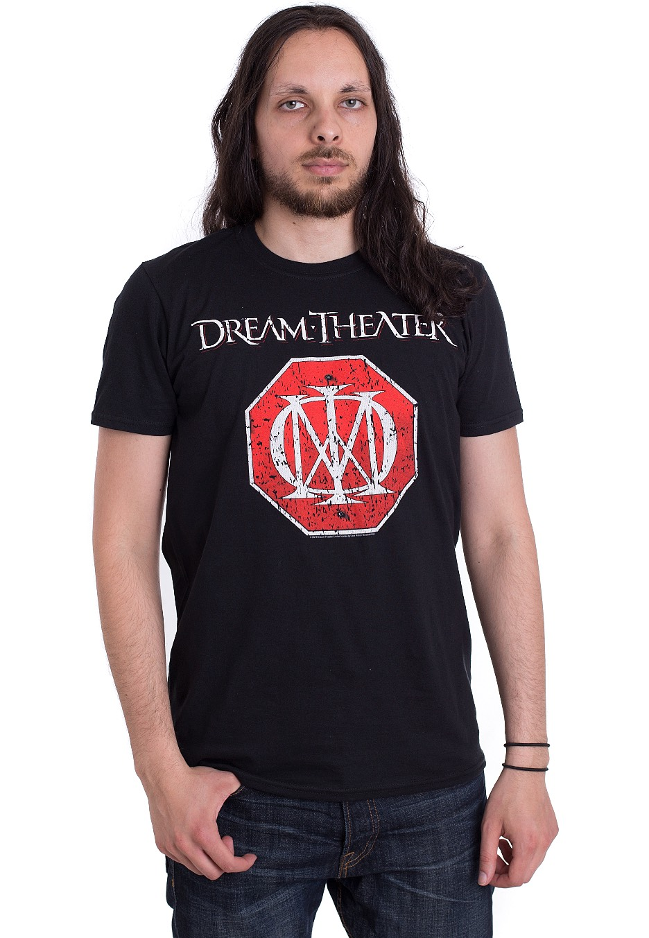 Dream Theater - Red Logo - - T-Shirts