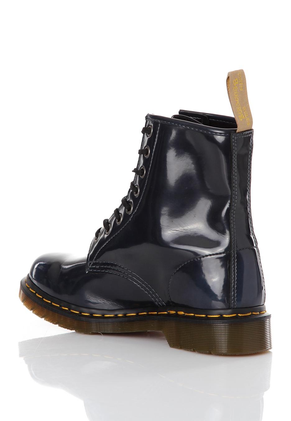 f0ae967ea6e Dr. Martens - Vegan 8 Eye Boot Navy - Dámské boty - Impericon.com CZ SK
