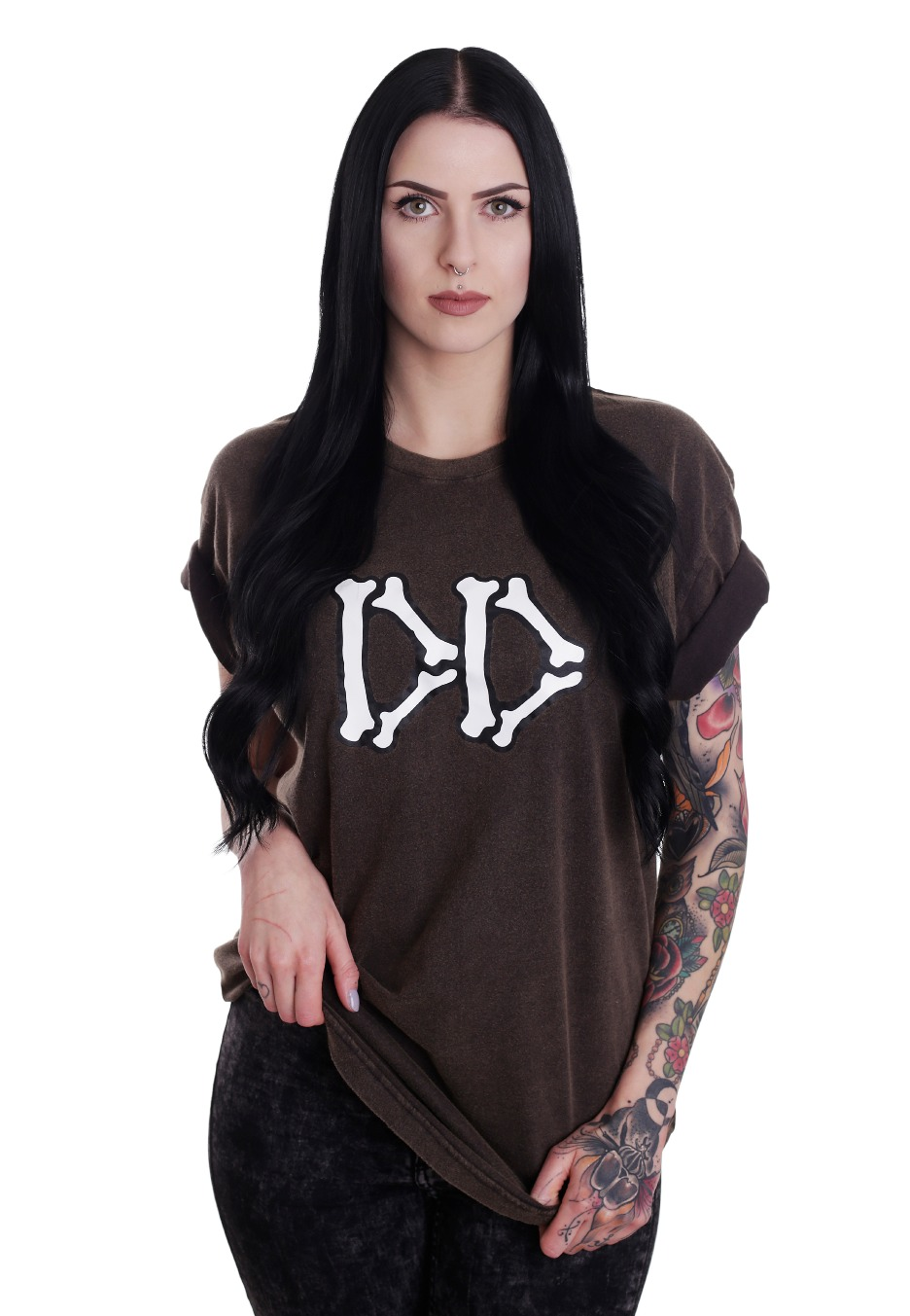Black t shirt girl - Black T Shirt Girl 54