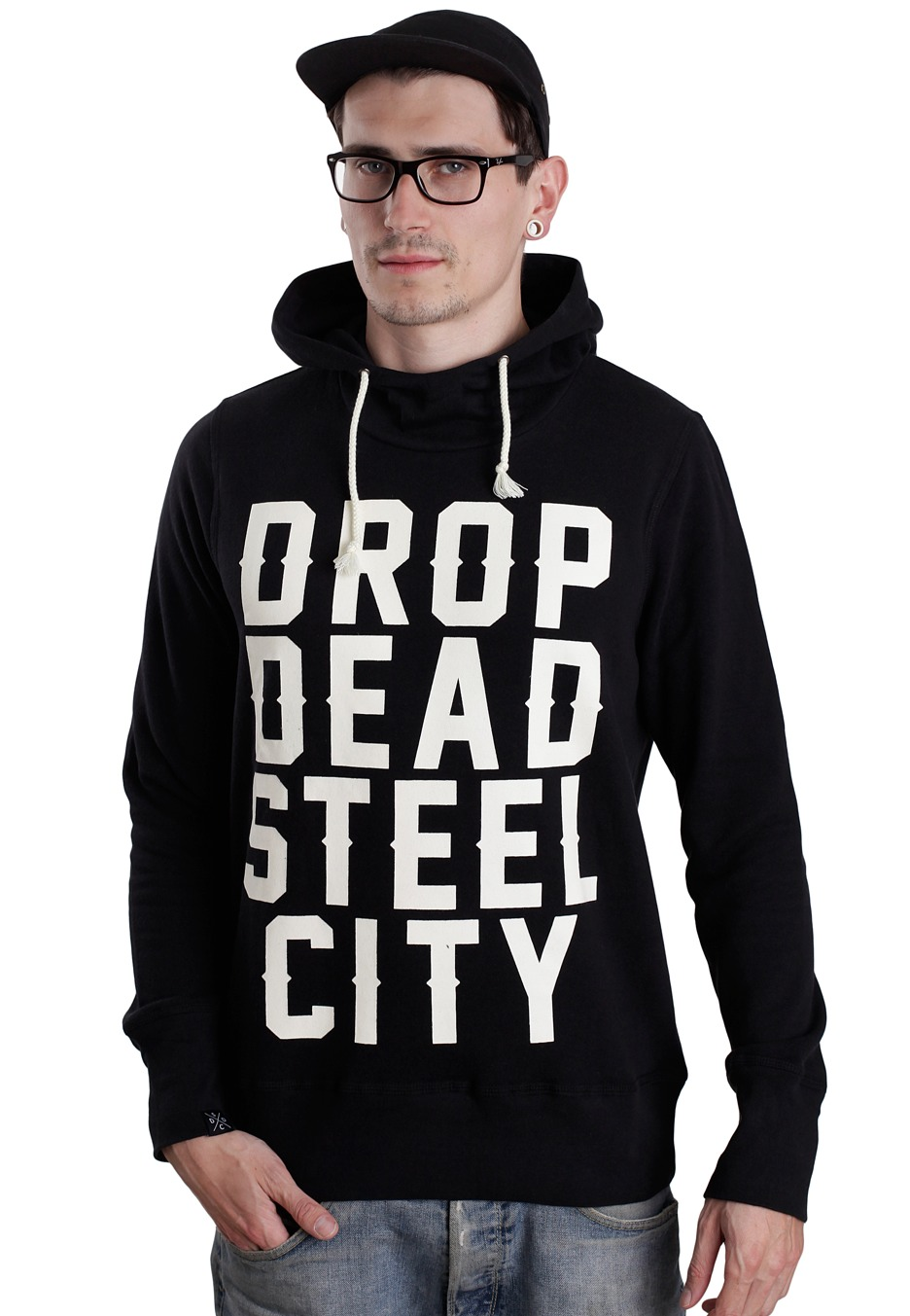 Drop dead hoodie