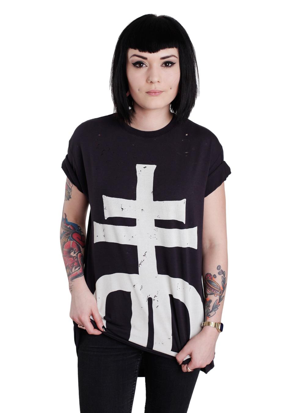 Drop Dead - Cross - T-Shirt - Impericon.com WorldwideDrop Dead Clothing Ghost