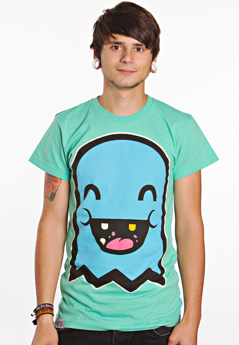 Drop Dead - Ghost Green - T-Shirt - Impericon.com WorldwideDrop Dead Clothing Ghost