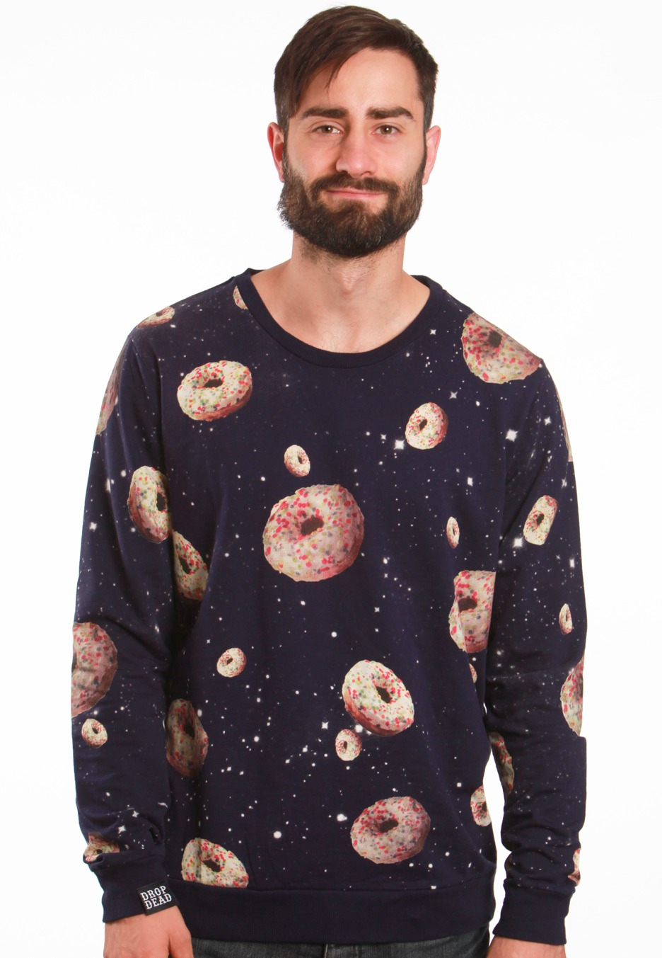 Drop Dead - Space Donuts Navy - Sweater - Impericon.com Worldwide