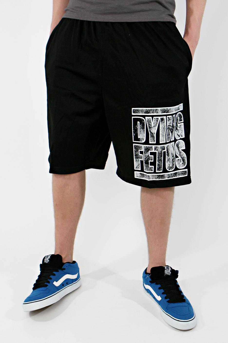 dying fetus logo shorts impericoncom uk