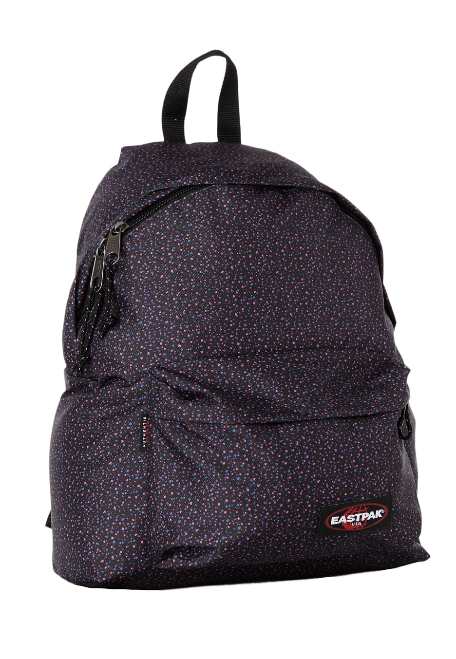 Eastpak Padded Pak R Leather Backpack In Black For Men: Padded Pak´r Apokalips