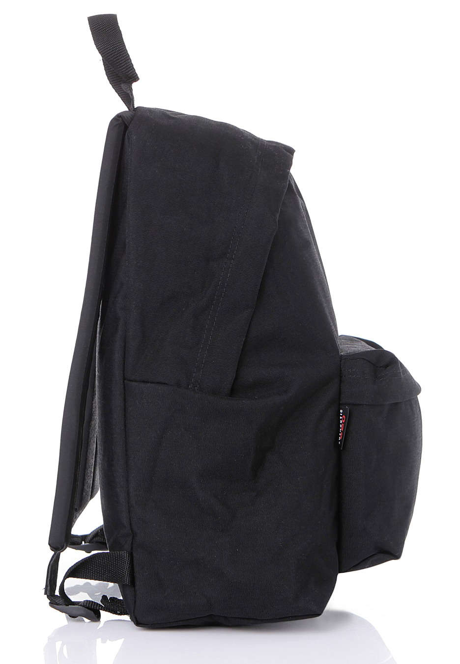 Eastpak Padded Pak R Leather Backpack In Black For Men: Padded Pak´r