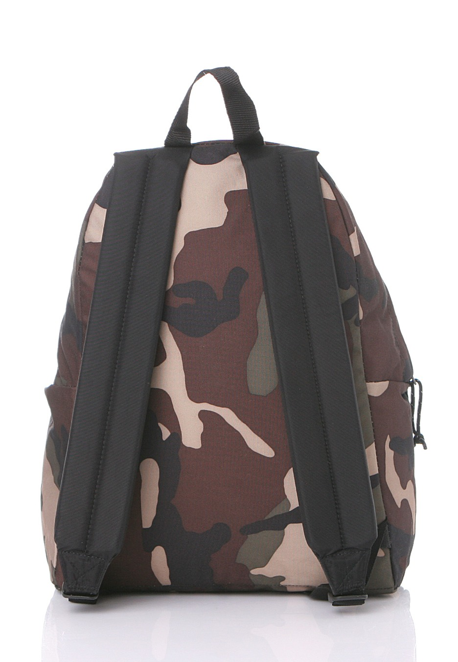 Eastpak Padded Pak R Leather Backpack In Black For Men: Padded Pak´r Camo