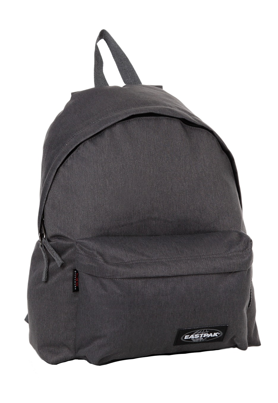 Eastpak Padded Pak R Leather Backpack In Black For Men: Padded Pak´r Klassix Black