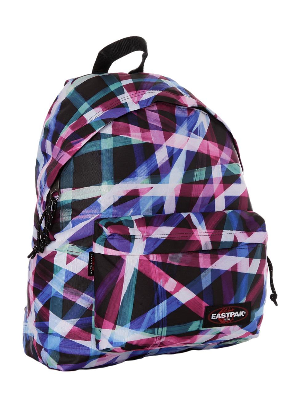Eastpak Padded Pak R Backpack Black: Padded Pak´r Multi Taped
