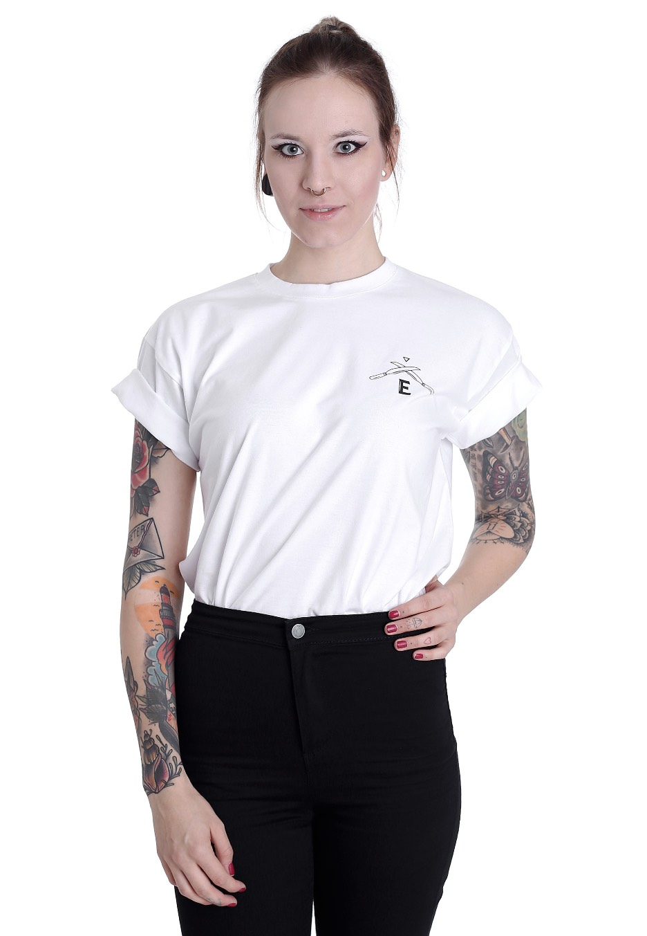 c0d8a20970b1d4 ElevenCult - Pentacles White - T-Shirt - Streetwear Shop - Impericon.com  Worldwide