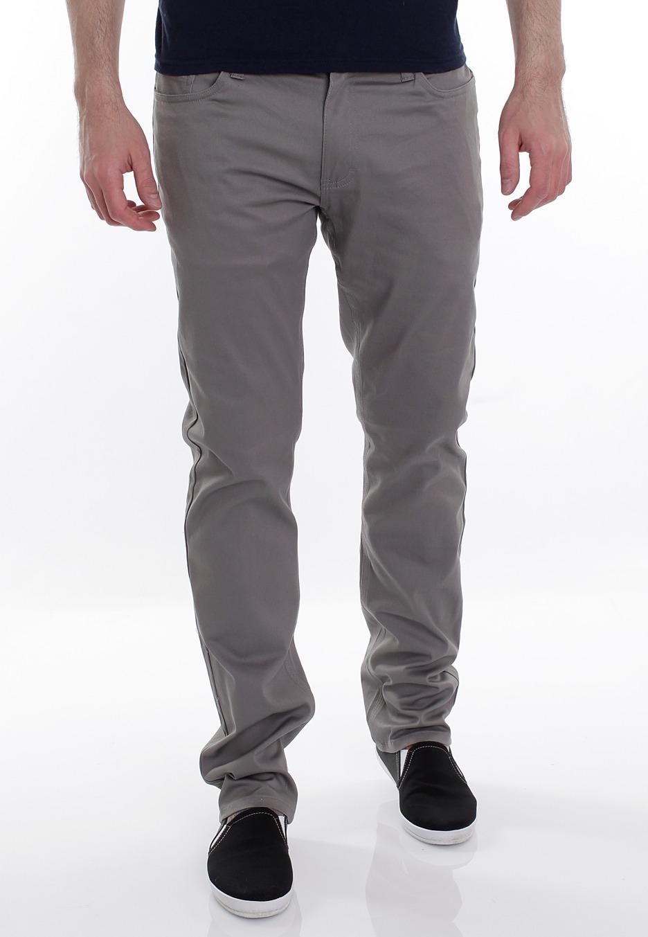 Emerica - HSU Saratoga Twill Grey - Pants - Streetwear Shop ...