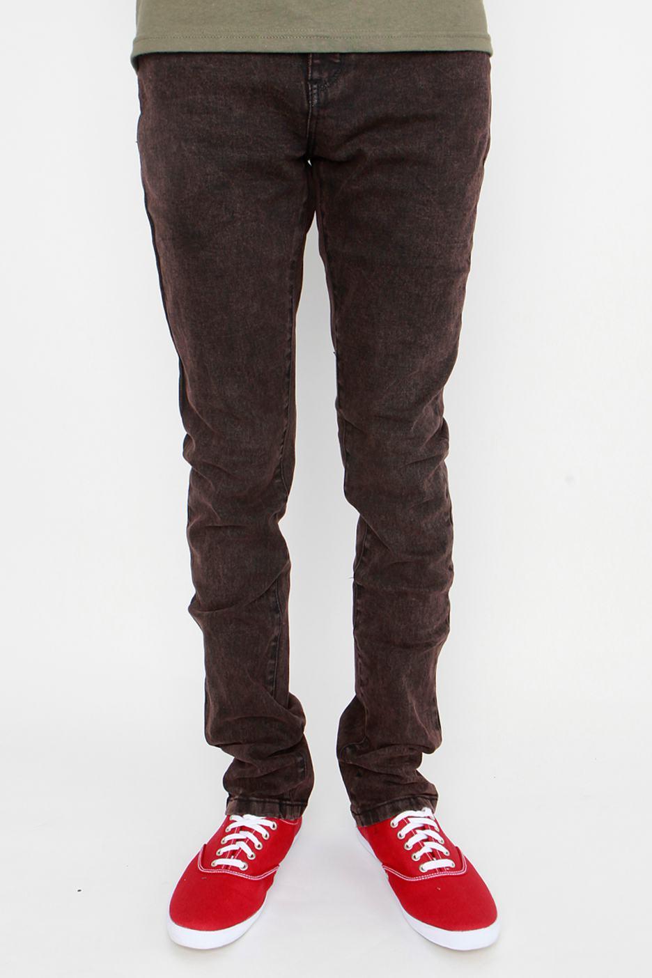 Emerica - Skelter Super Slim Brown - Jeans - Streetwear Shop ...