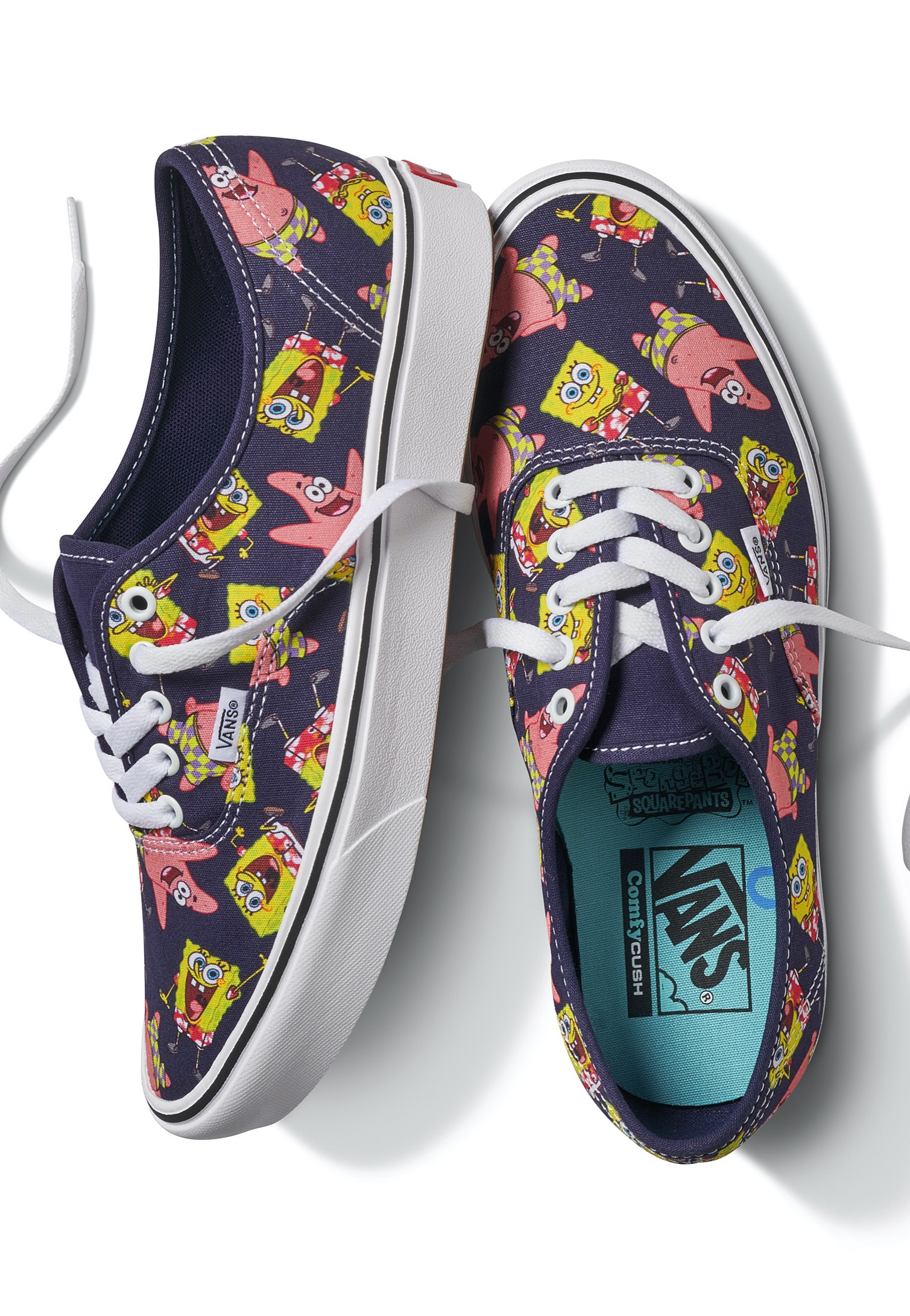 Vans x Spongebob - Comfycush Authentic Aloha Bob - Shoes ...