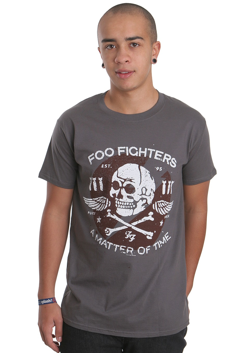 efa52d562ddb Foo Fighters - Matter Of Time Charcoal - T-Shirt - Official Folk Rock  Merchandise Shop - Impericon.com UK