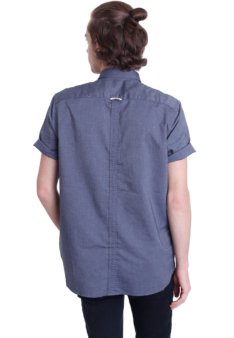 Fred Perry - Classic Oxford S S Dark Carbon - Skjorta - Streetwear ... 17d8099532919