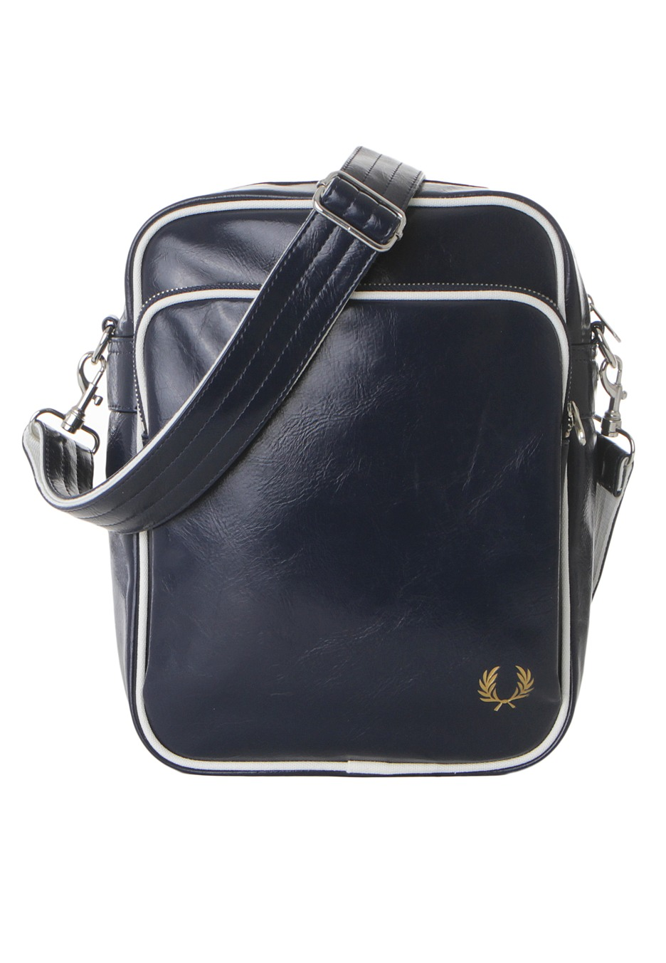 Fred Perry - Classic Side Navy White - Bag - Streetwear Shop -  Impericon.com Worldwide 235c9213801ee