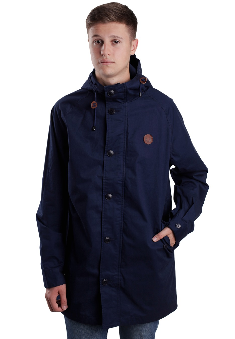 fred perry fishtale parka dark carbon jacket streetwear shop worldwide. Black Bedroom Furniture Sets. Home Design Ideas