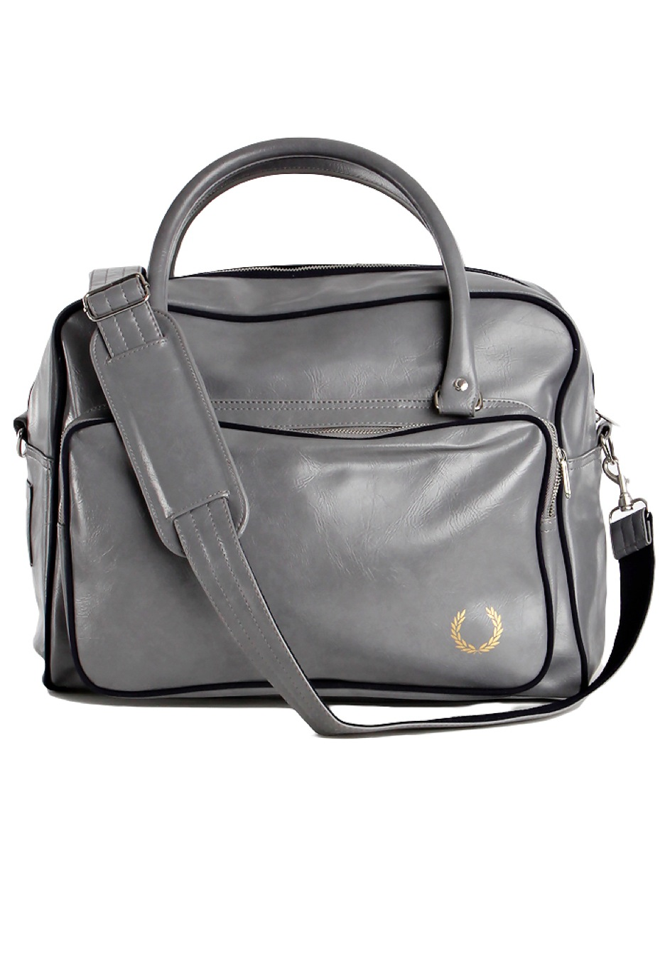 Fred Perry - Holdall Grey - Bag - Streetwear Shop - Impericon.com Worldwide 0582d72a1595f