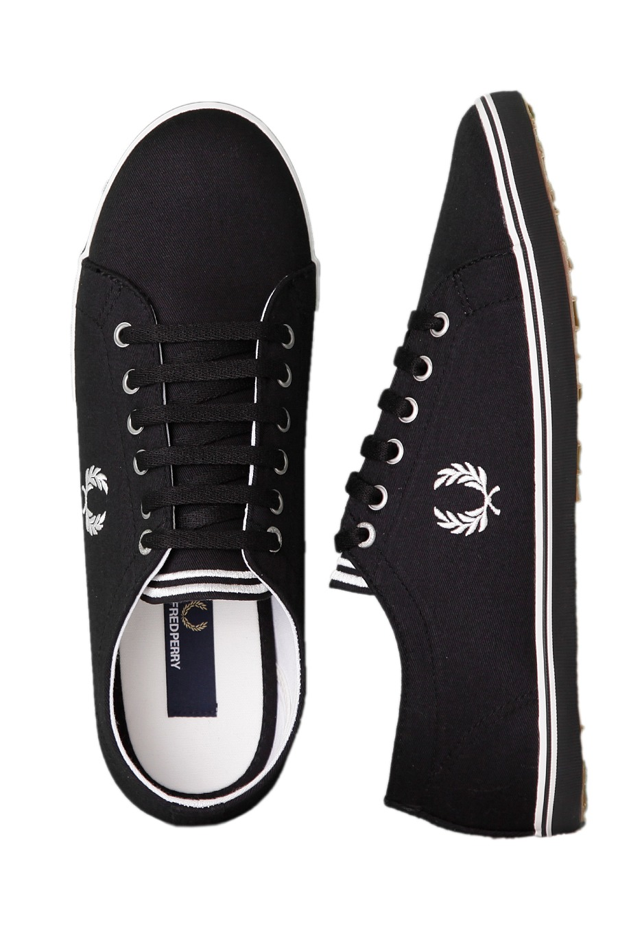 Fred Perry - Kingston Twill Black