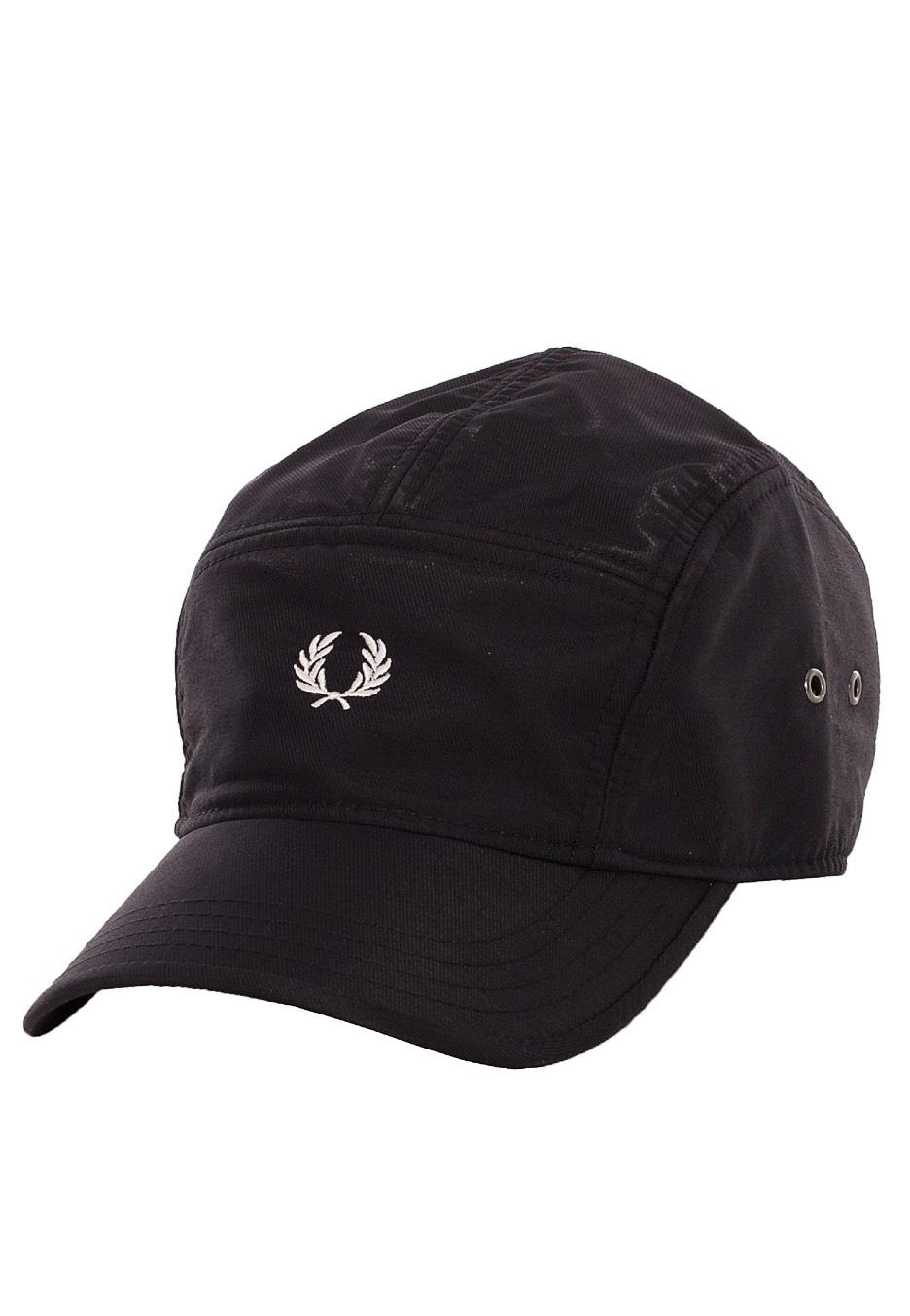Fred Perry - Nylon Black - Cap - Streetwear Shop - Impericon.com AU 34c992ac513