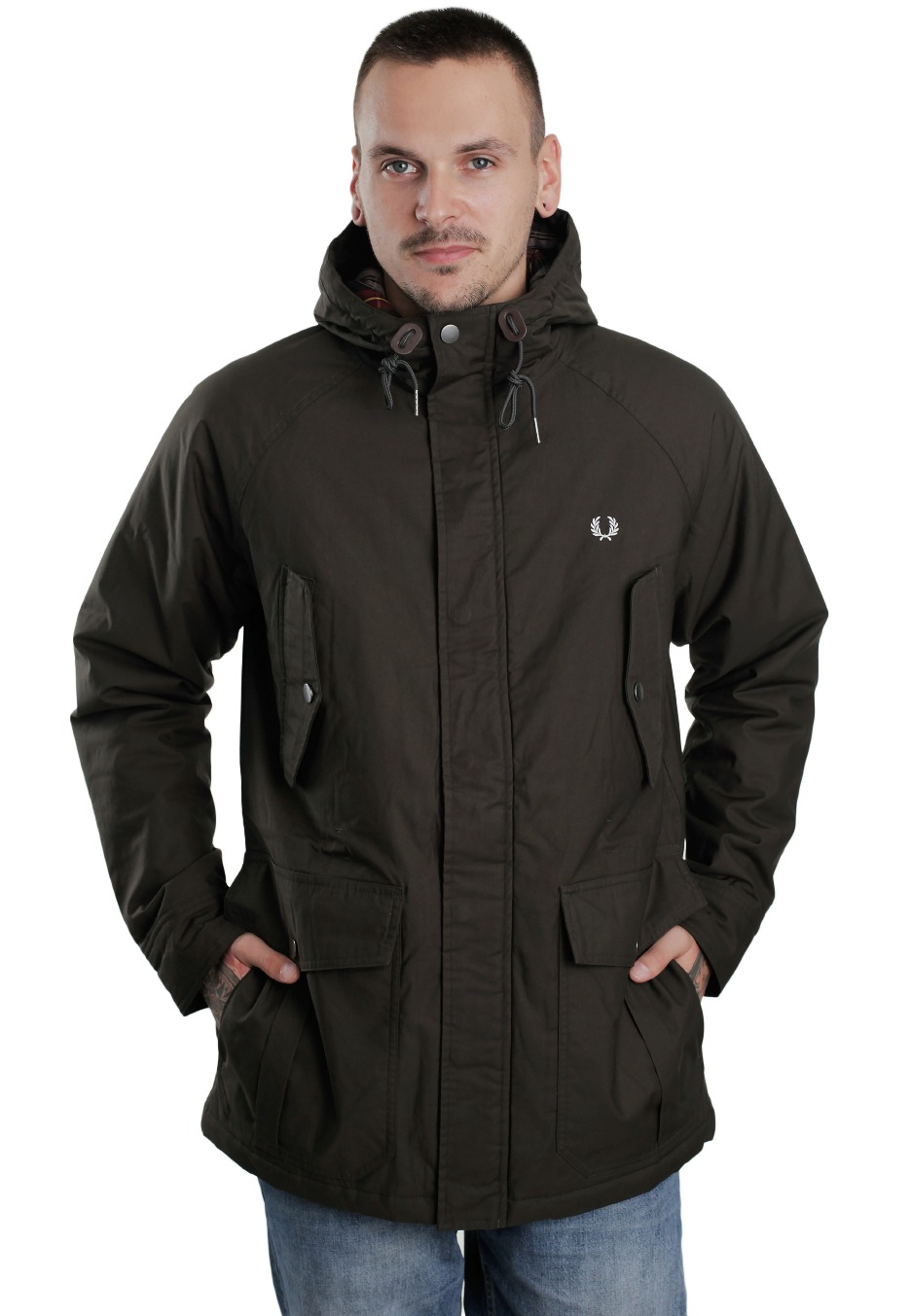 fred perry winter jacket the image kid. Black Bedroom Furniture Sets. Home Design Ideas