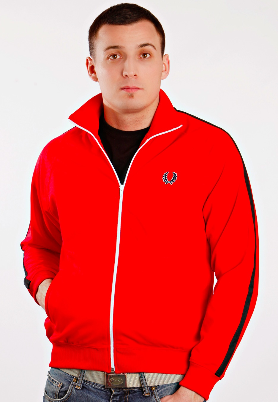fred perry jacke rot. Black Bedroom Furniture Sets. Home Design Ideas