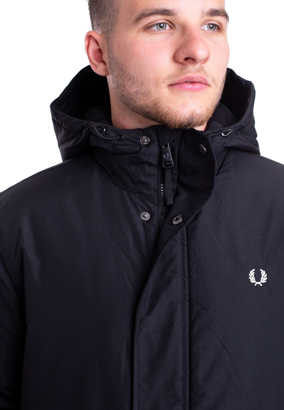Perry Fred Fred Black Perry Black Stockport Stockport Jacket 5q6PTOnwx