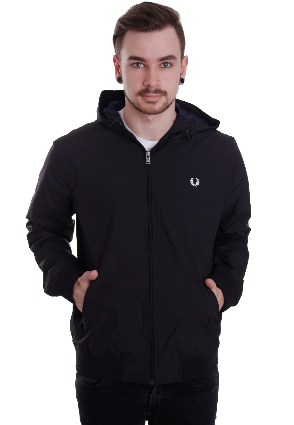 9f039c0ce Fred Perry - Summer Hooded Brentham - Jacket - Streetwear Shop -  Impericon.com Worldwide
