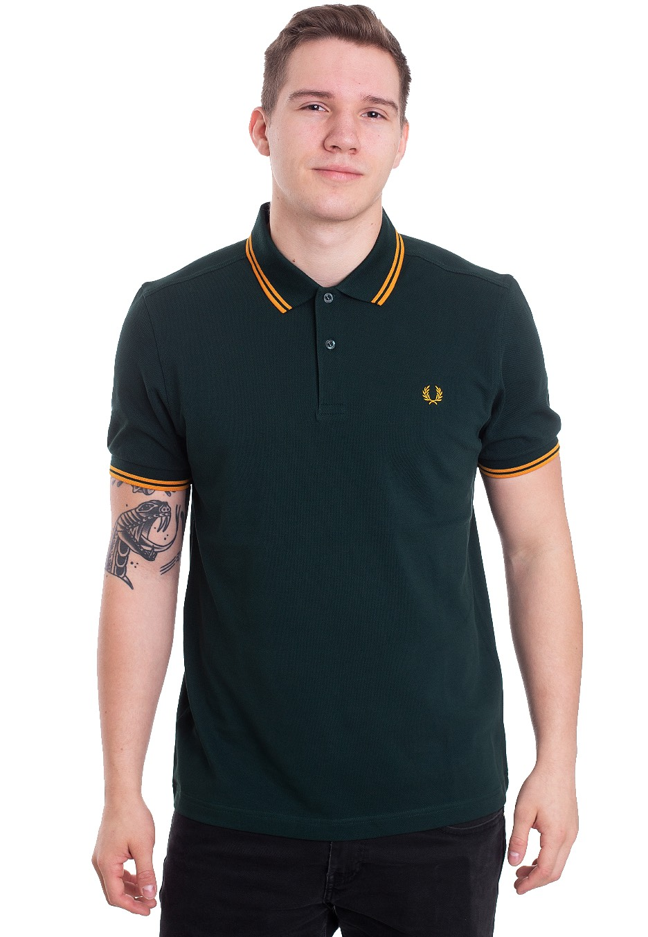aed95f1ddea Fred Perry - Twin Tipped Evergreen - Polo - Streetwear Shop - Impericon.com  Worldwide