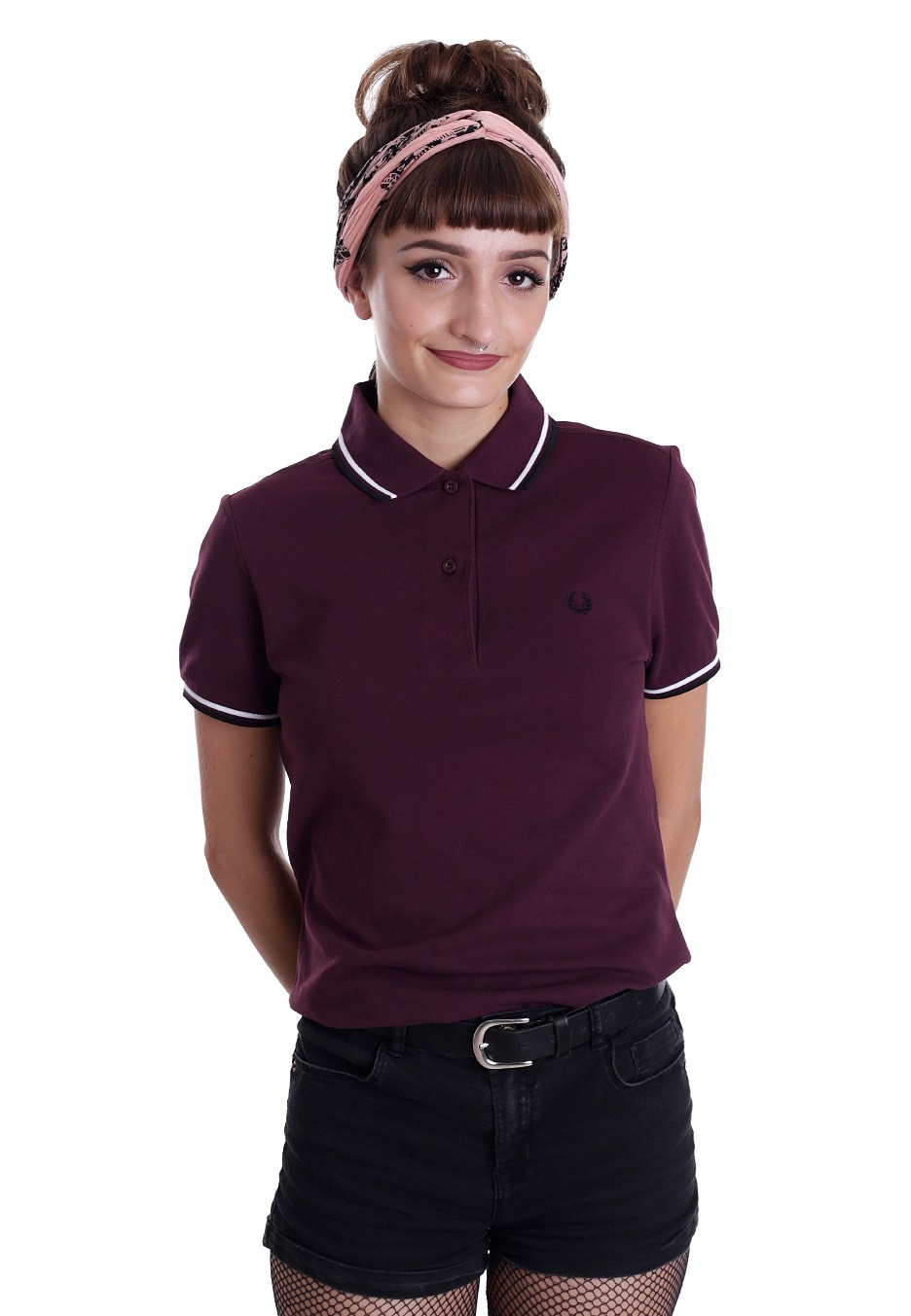 Fred Perry - Twin Tipped Fred Perry Mahogany/White/Black ...