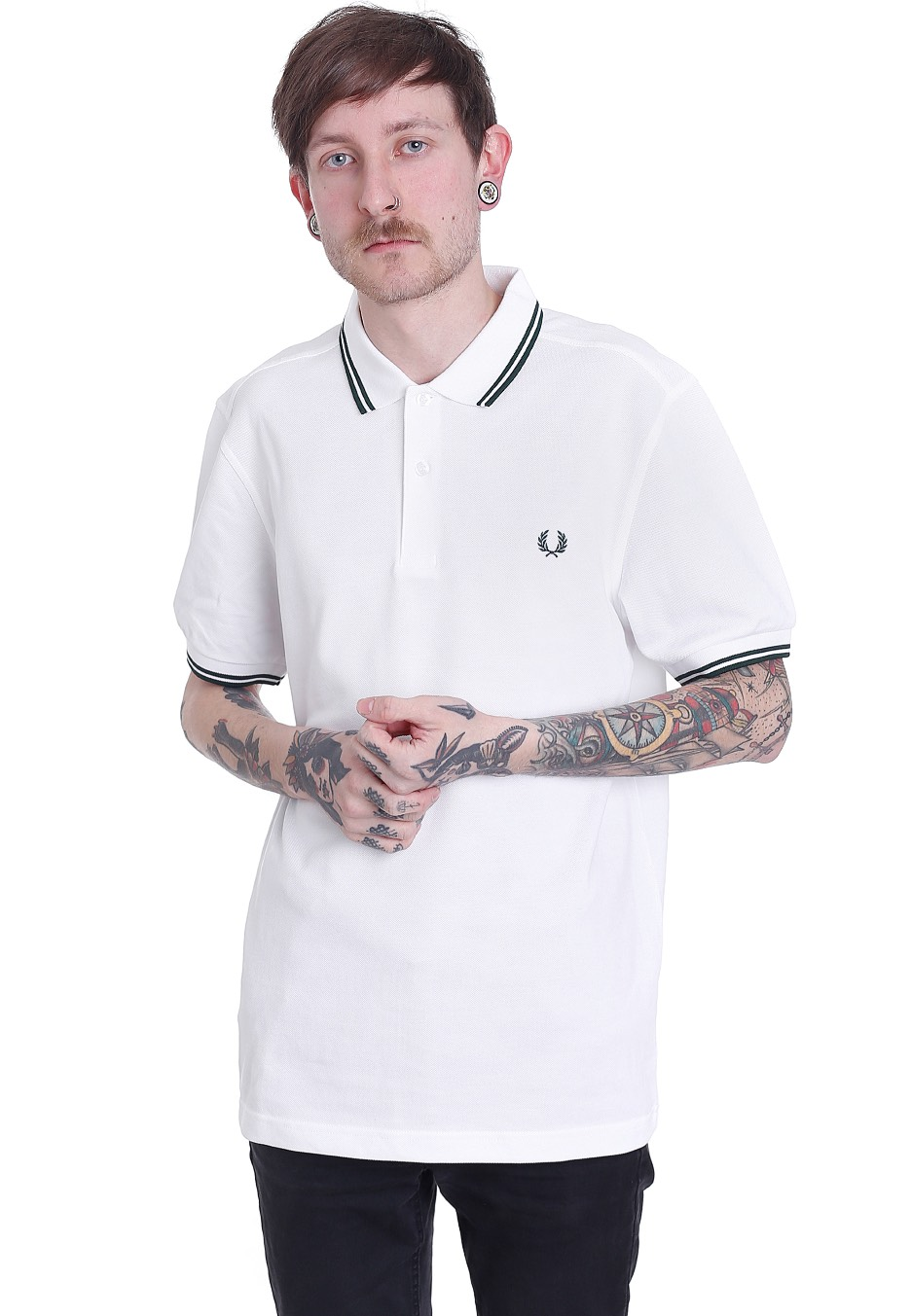 fred perry twin tipped fred perry white ivy polo streetwear shop worldwide. Black Bedroom Furniture Sets. Home Design Ideas