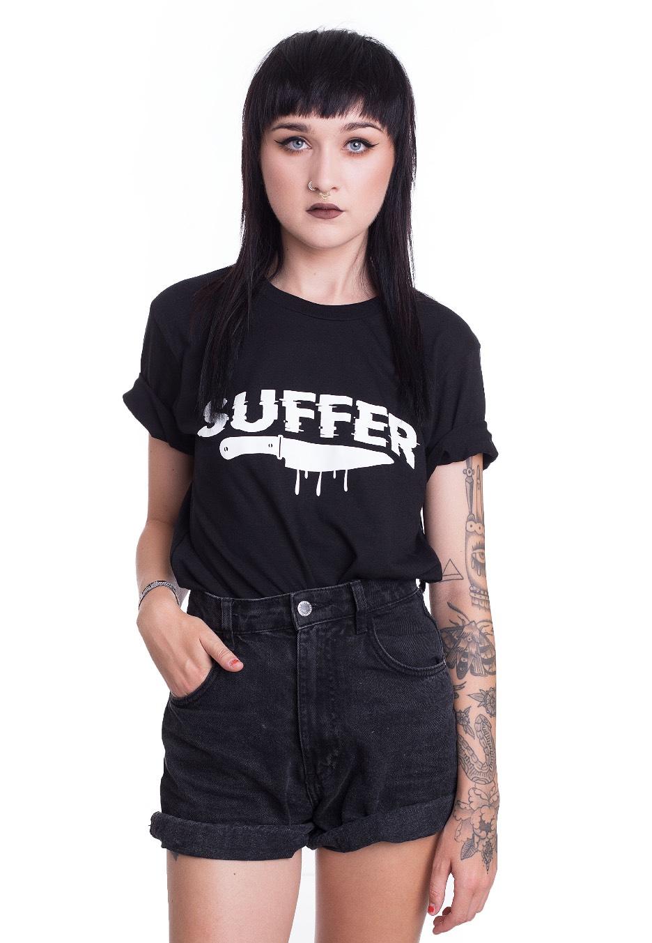 Fuchsteufelswild - Suffer Black - - T-Shirts