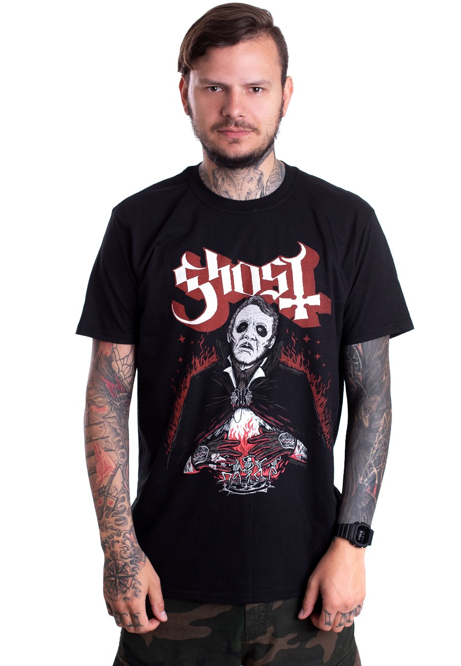 Officially Licensed GHOST DANSE MACABRE T SHIRT GHOTEE21MB //TEE//BAND