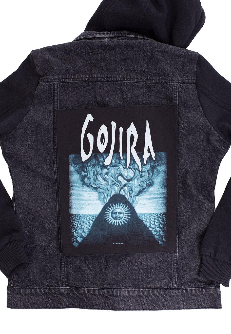 GOJIRA MAGMA Backpatch XLG Gojira Magma Back Patch