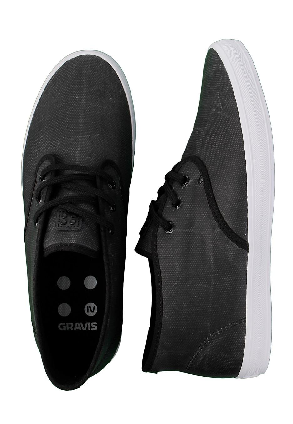 0c14ddae6a8 Gravis - Quarters LX Black Wax - Shoes - Impericon.com AU
