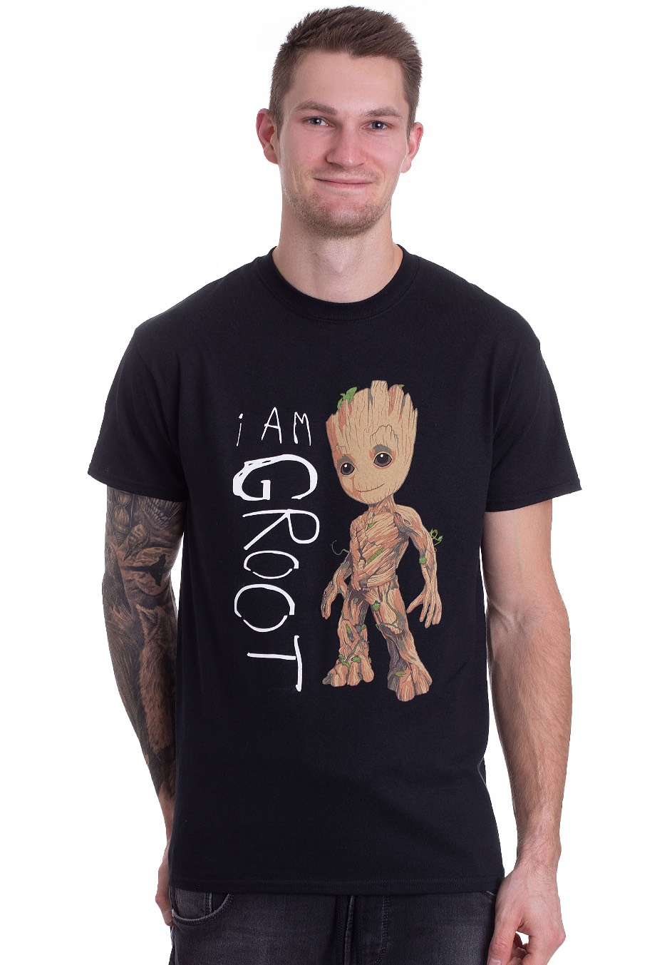 Guardians Of The Galaxy - I Am Groot Scribbles - T-Shirt - Impericon.com AU 8589d8e36