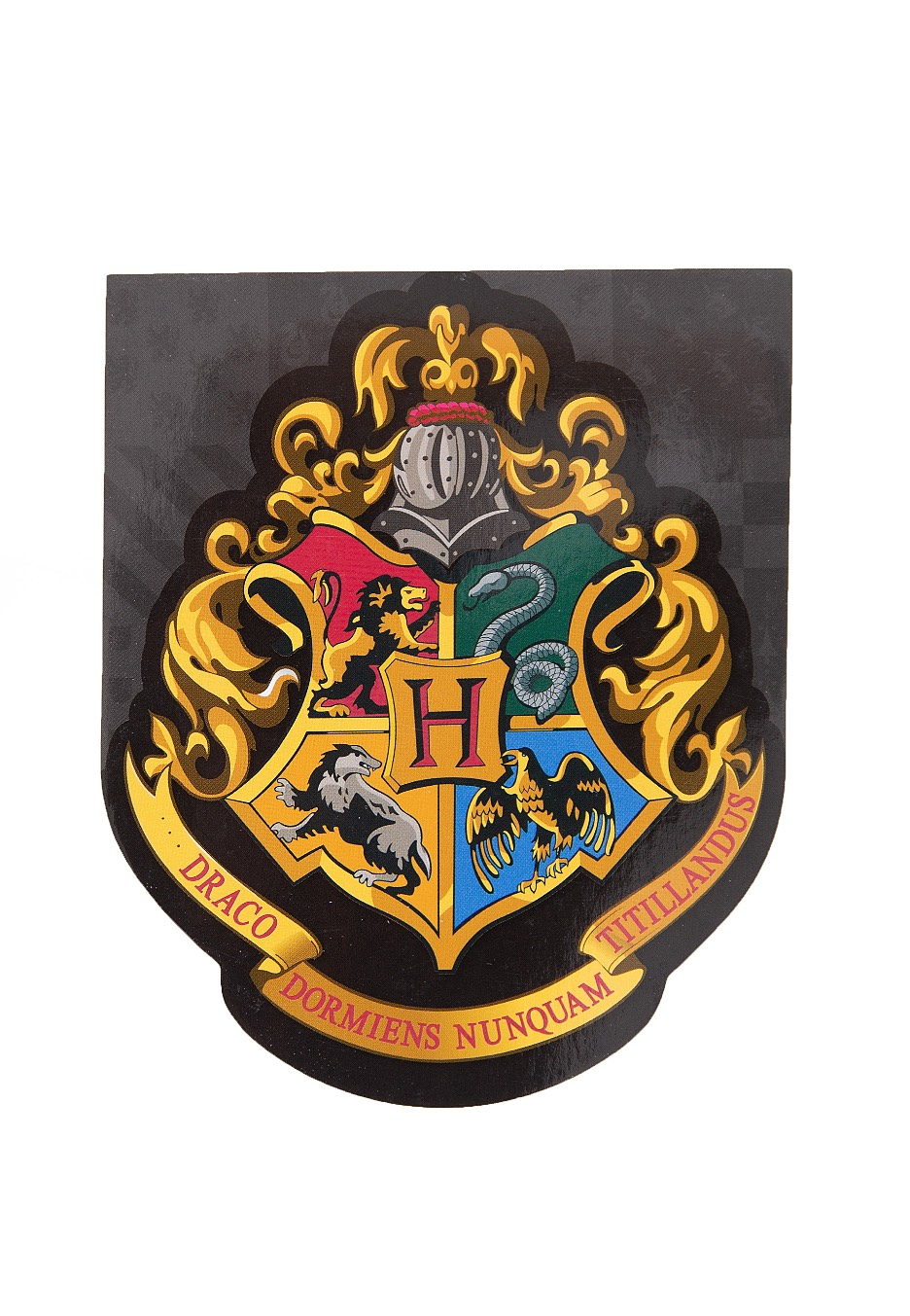 Harry Potter - Hogwarts Logo Deluxe - Memo Pad - Impericon ...
