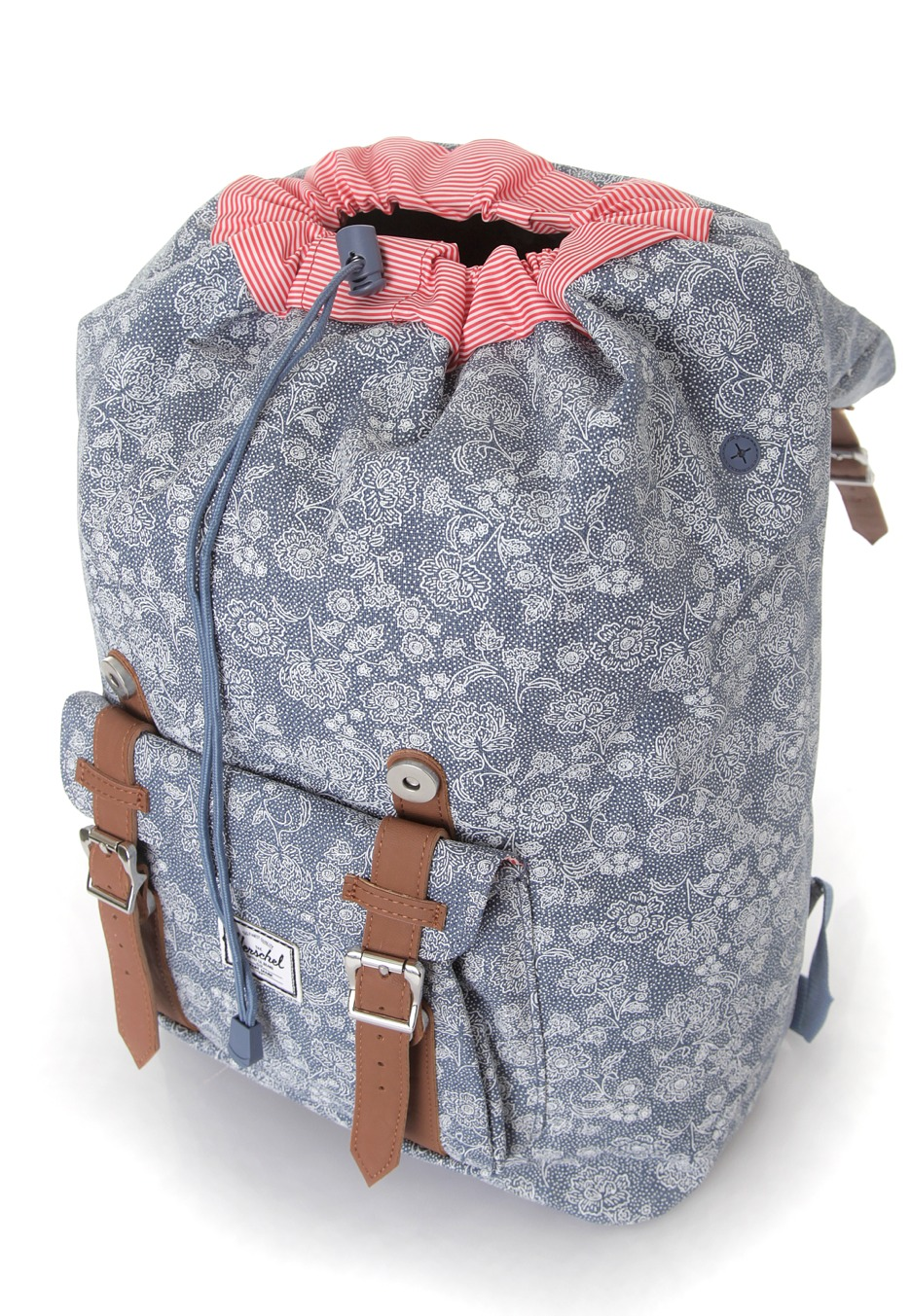 herschel little america mid volume floral chambray sac. Black Bedroom Furniture Sets. Home Design Ideas