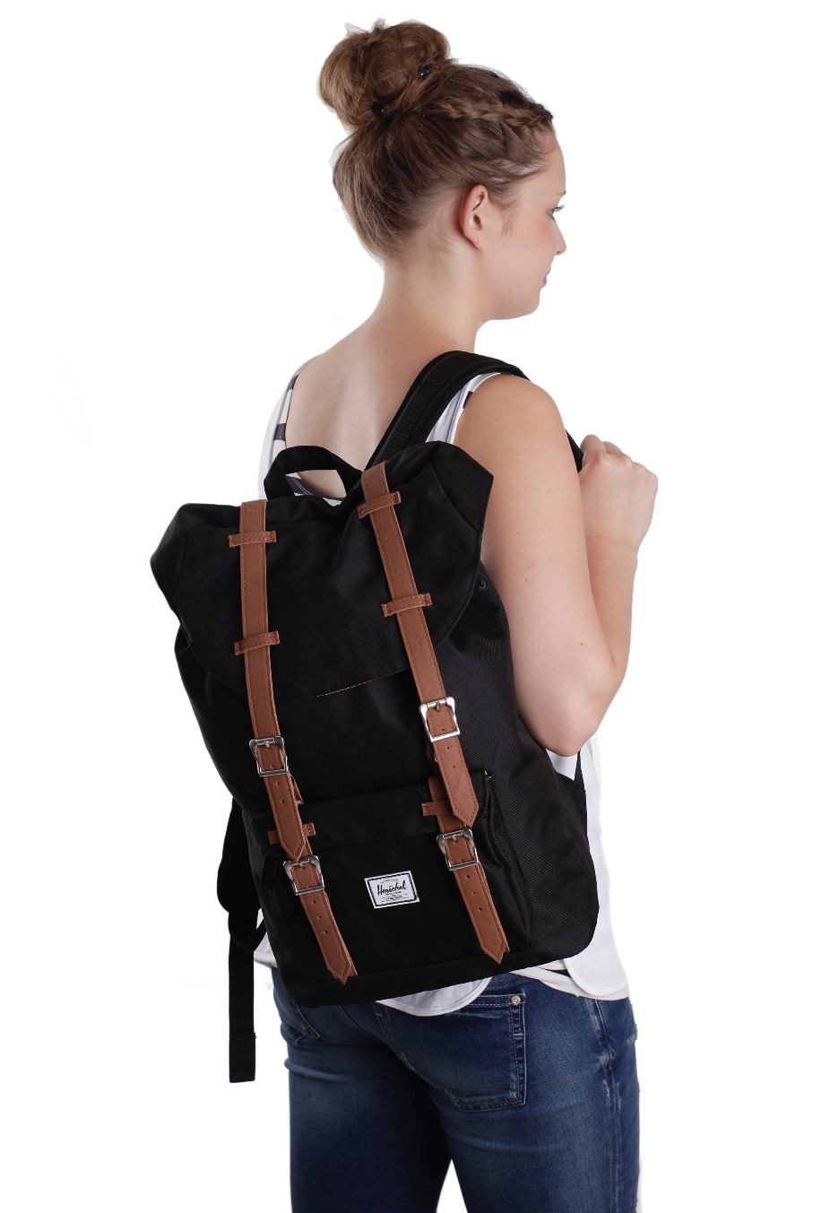 herschel little america mid volume backpack. Black Bedroom Furniture Sets. Home Design Ideas