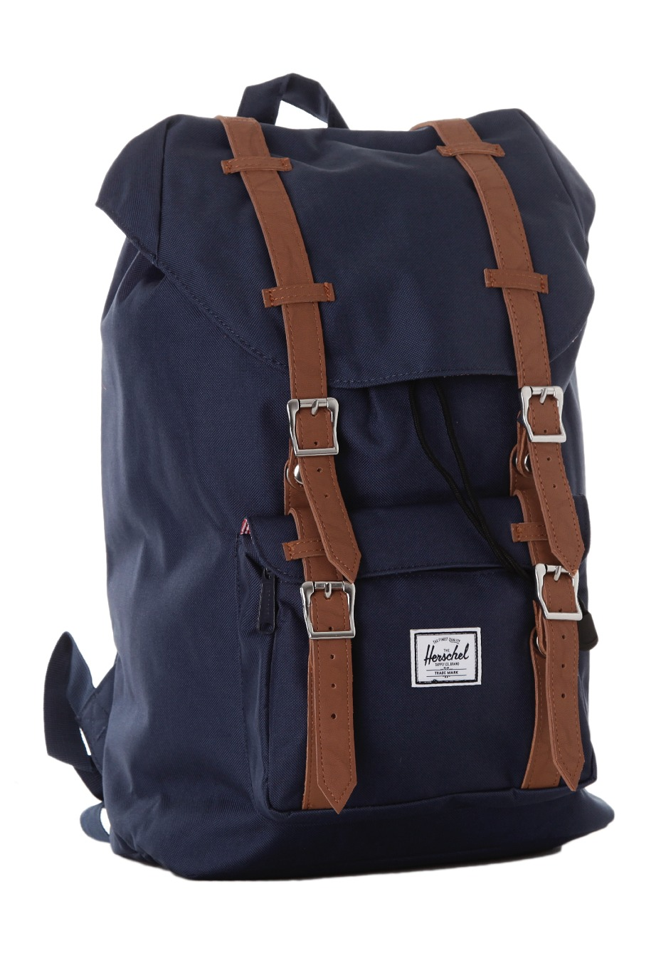 herschel little america mid volume navy rucksack. Black Bedroom Furniture Sets. Home Design Ideas