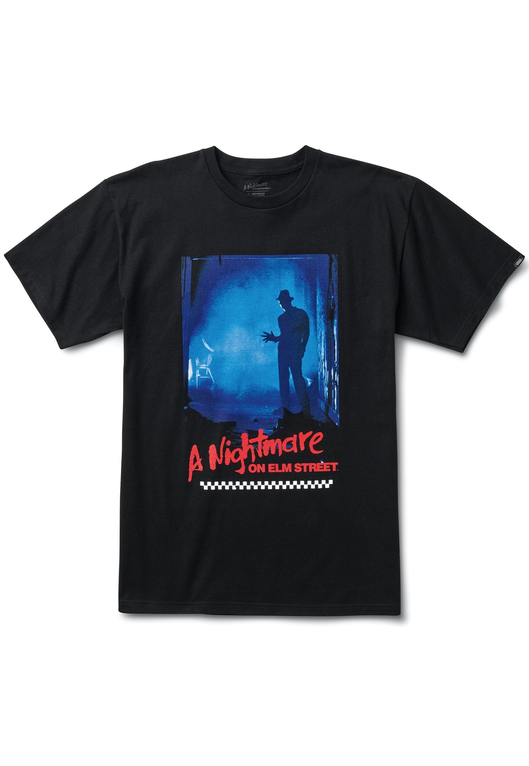 Vans x Horror Nightmare On Elm Street Black T-Shirt
