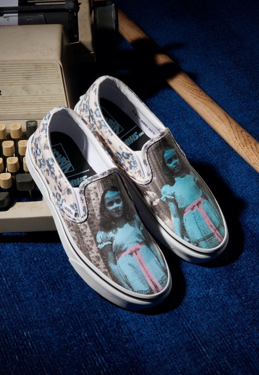 Vans x Horror Classic Slip On The Shining Shoes